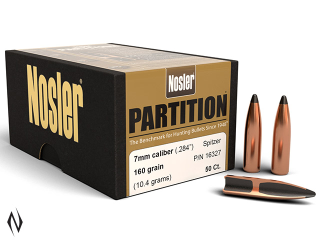 NOSLER 7MM 160GR PARTITION 50PK Image