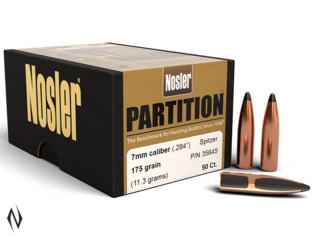 NOSLER 7MM 175GR PARTITION 50PK Image