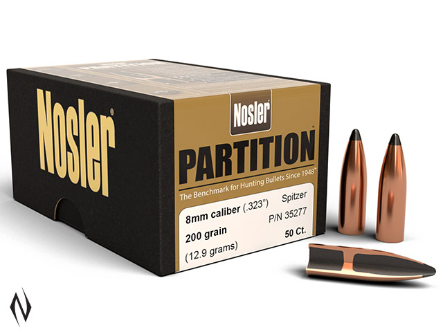 NOSLER 8MM 200GR PARTITION 50PK Image