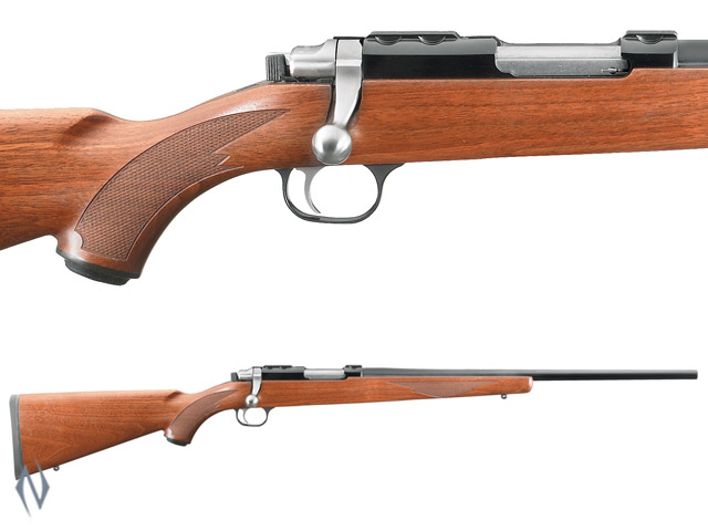 RUGER 77/22 22 HORNET BLUED WALNUT Image