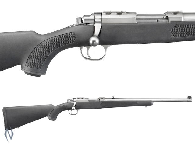 "RUGER 77/357 357 MAG STAINLESS SYNTHETIC 18.5"" Image"