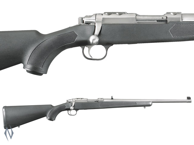 "RUGER 77/44 44 MAG STAINLESS SYNTHETIC 18.5"" Image"