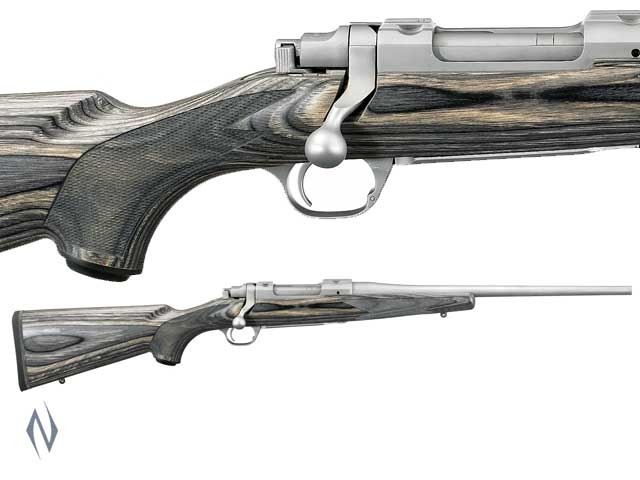"RUGER 77 COMPACT STAINLESS LAMINATED 16.5"" Image"