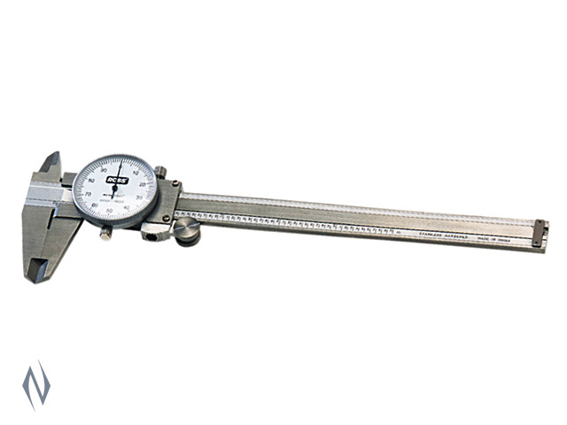 RCBS STAINLESS STEEL DIAL CALIPER Image