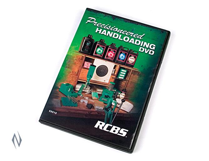 RCBS HANDLOADING DVD Image