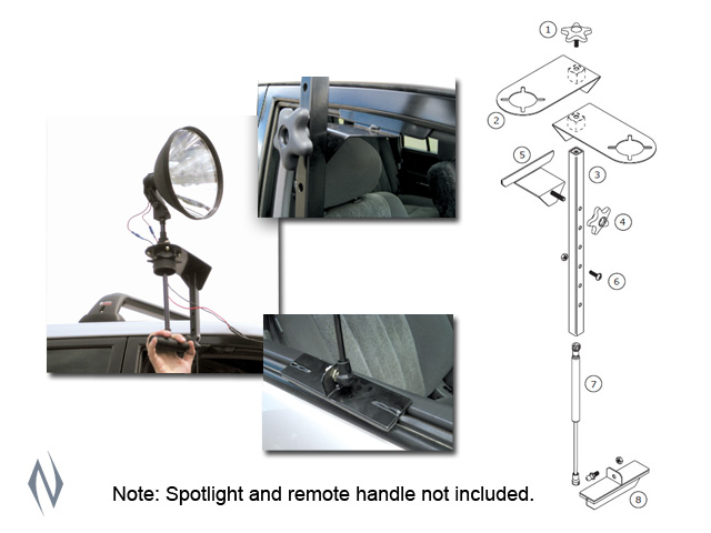 LIGHTFORCE SUPPORT A LIGHT WINDOW MOUNT Image