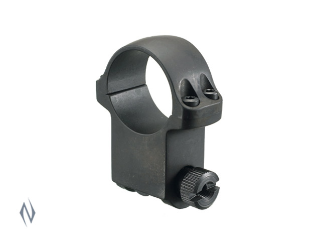 "RUGER X-HIGH 1"" BLUED HAWKEYE MATTE RING Image"