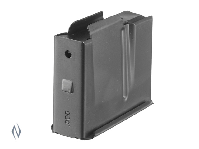 RUGER GUNSITE & RPR 308, 243 5 SHOT & GUNSITE 450 BUSHMASTER 4 SHOT MAGAZINE Image