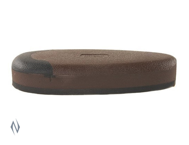 "PACHMAYR SPORTING CLAYS PAD BLACK BASE 03236 MEDIUM BROWN 1"" Image"