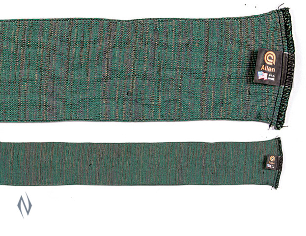 "ALLEN GUN SOCK GREEN 52"" SCOPED RIFLE / SHOTGUN Image"