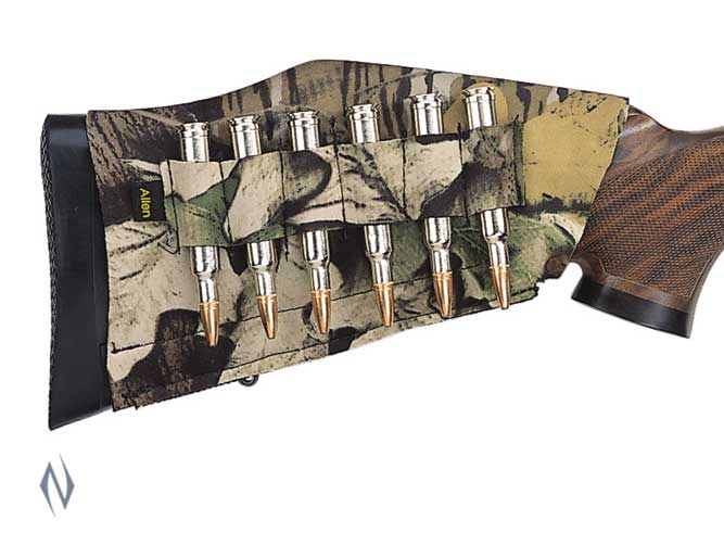 ALLEN RIFLE BUTTSTOCK 6 SHELL HOLDER CAMO Image