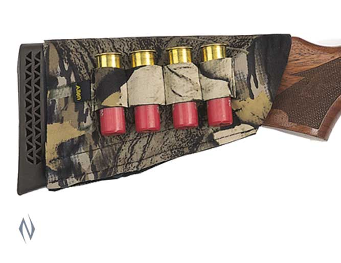 ALLEN SHOTGUN BUTT STOCK 4 SHELL HOLDER CAMO Image