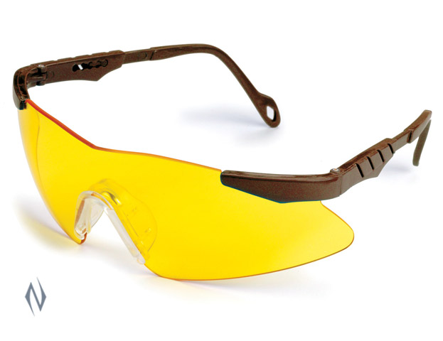 ALLEN RANGEMASTER SHOOTING GLASSES YELLOW LENS Image