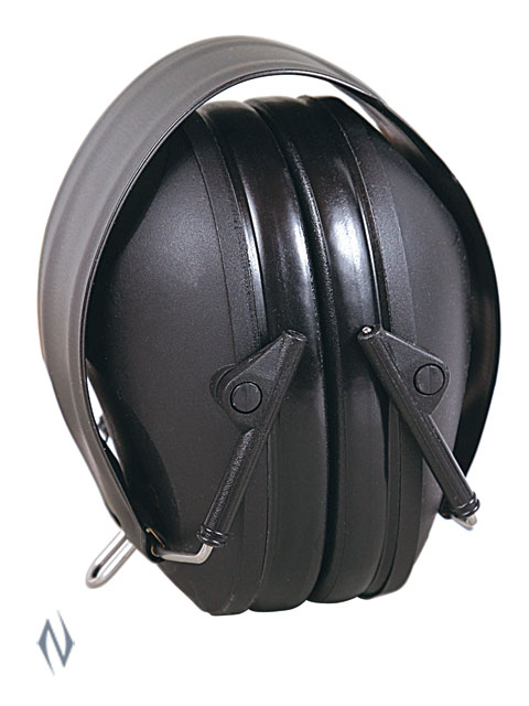 ALLEN LOW PROFILE EAR MUFFS 26NRR BLACK Image