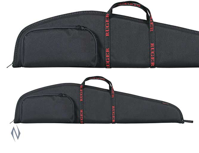 "ALLEN RUGER STANDARD SCOPED RIFLE CASE + POCKET 40"" Image"