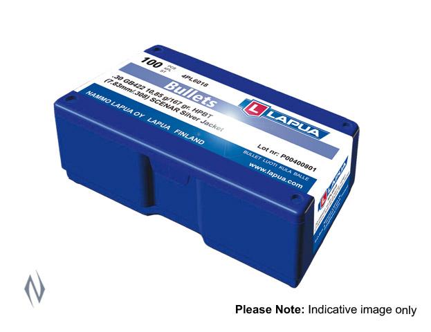 LAPUA BULLET .310 200GR FMJ BOAT TAIL 100PK D166 Image