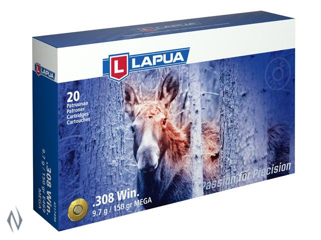 LAPUA AMMO 308 WIN 150GR MEGA Image