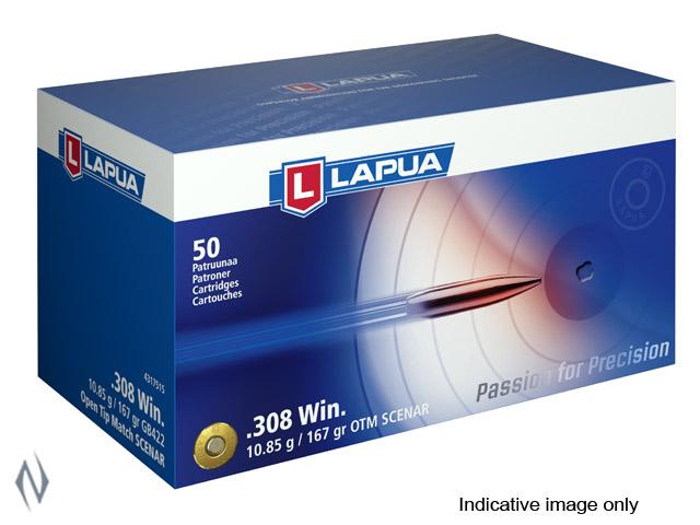 LAPUA AMMO 308 WIN 167GR SCENAR Image
