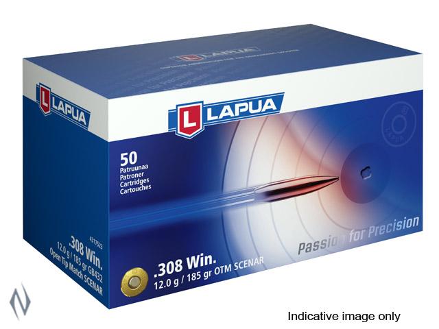 LAPUA AMMO 308 WIN 185GR SCENAR Image