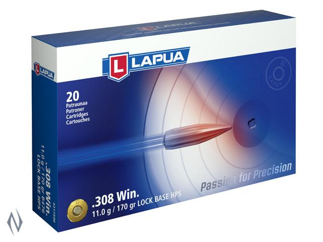 LAPUA AMMO 308 WIN 170GR LOCK BASE Image