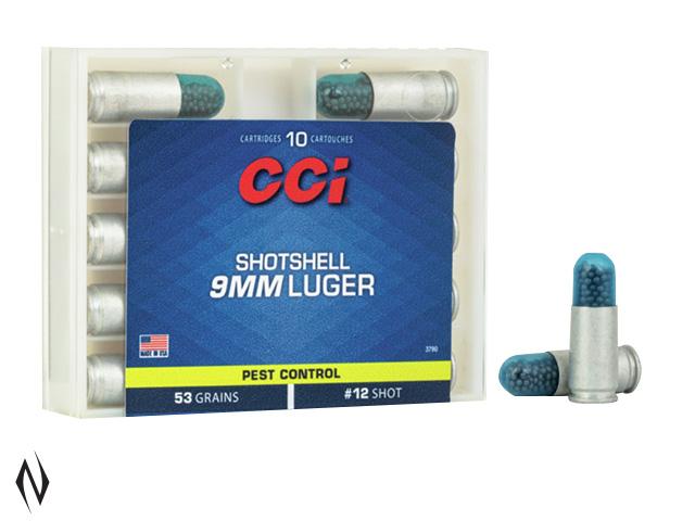 CCI 9MM LUGER SHOTSHELL 10 RND Image