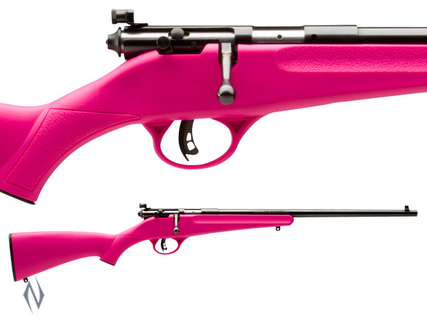 SAVAGE RASCAL PINK SYNTHETIC 22LR SINGLE SHOT Image