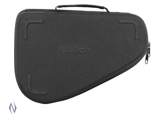 "ALLEN MOLDED HANDGUN CASE FOR REVOLVERS 12"" Image"