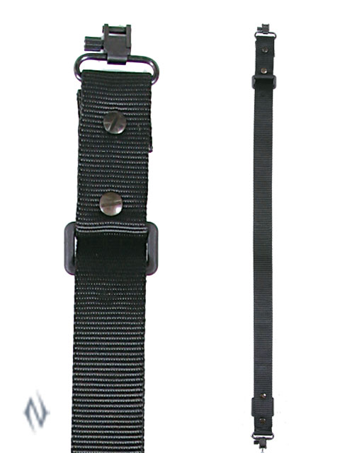 "ALLEN QUICK ADJ BLACK SLING 1.25"" + SWIVELS Image"