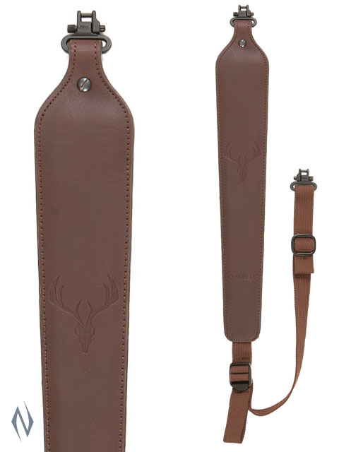 ALLEN COBRA PADDED LEATHER SLING + SWIVELS Image
