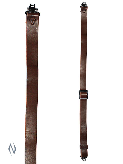 ALLEN SLIDE & LOCK LEATHER SLING + SWIVELS Image