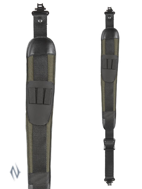 ALLEN BLACK CANYON SLING GREEN + SWIVELS Image