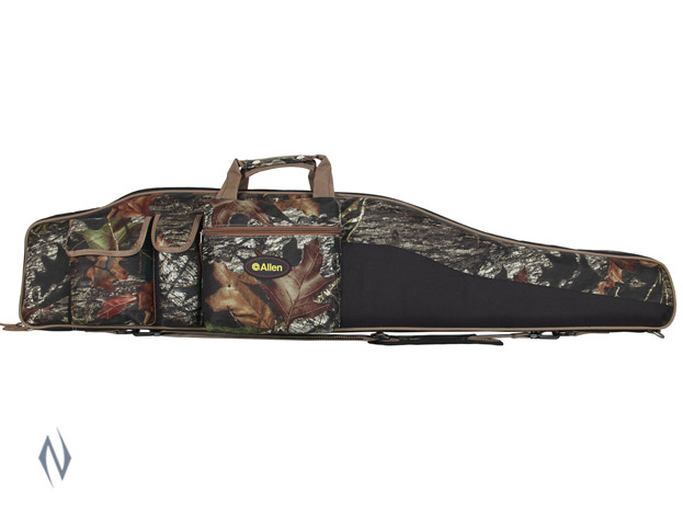 "ALLEN TEJON OVERSIZE SCOPED RIFLE CASE CAMO + SLING 50"" Image"