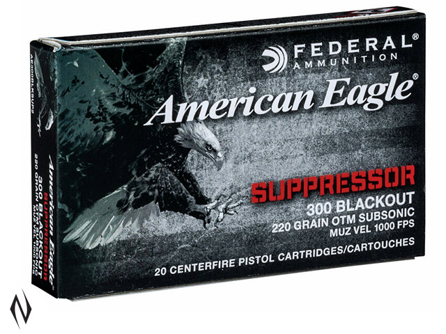 FEDERAL 300AAC BLACKOUT 220GR HPBT Image