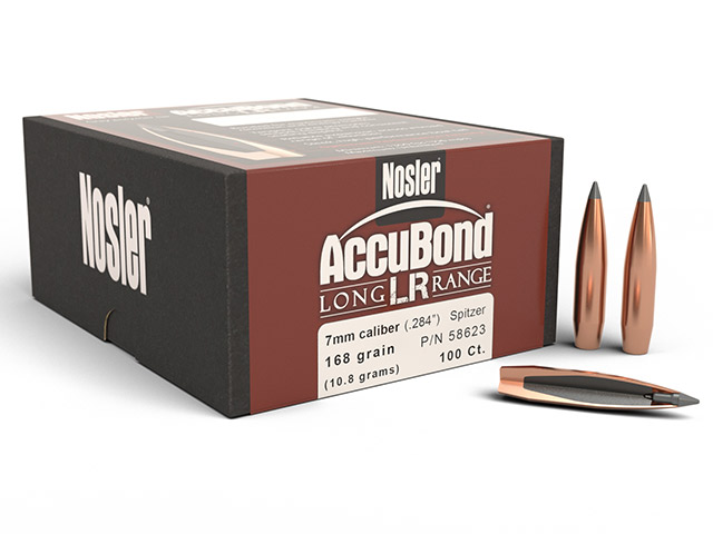 NOSLER 7MM 168GR SP ACCUBOND LR 100PK Image