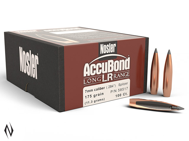 NOSLER 7MM 175GR SP ACCUBOND LR 100PK Image