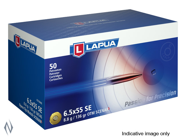 LAPUA AMMO 6.5X55 136GR SCENAR L Image
