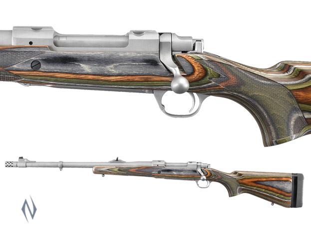 """RUGER 77 RSG 375 RUGER HAWKEYE S/S GUIDE GUN 20"""" LEFT Image"""