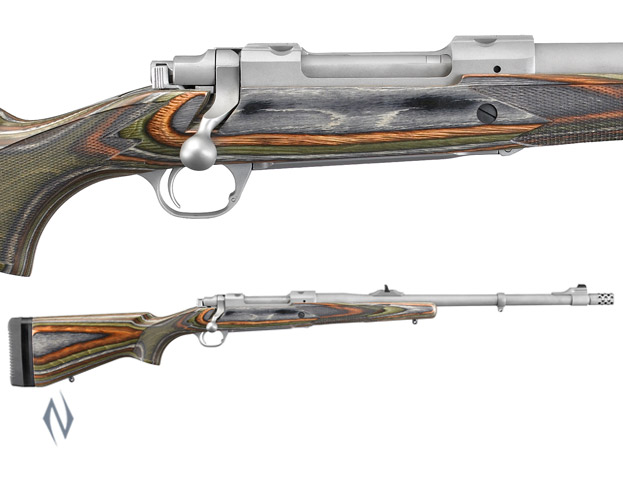 "RUGER 77 HAWKEYE GUIDE GUN STAINLESS 20"" Image"