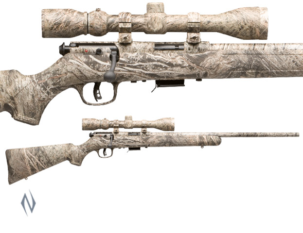 SAVAGE 93 R17 17 HMR BRUSH CAMO PACKAGE Image