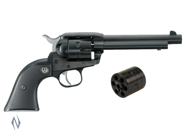RUGER SINGLE SIX 22LR/22MAG BLUED 140MM FIXED SIGHTS Image