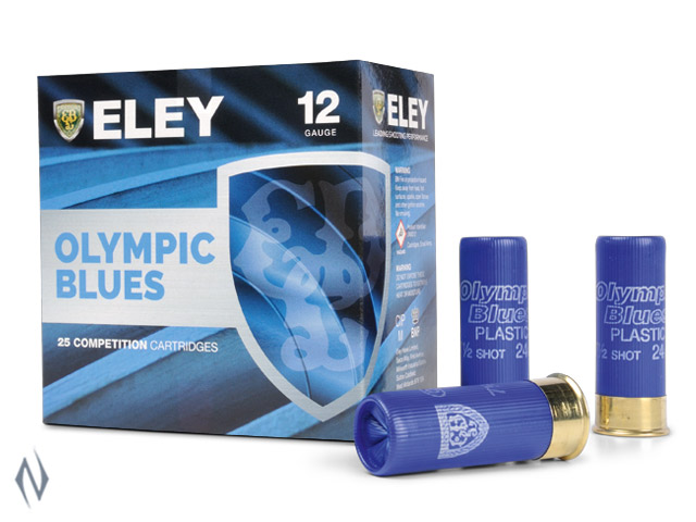 ELEY OLYMPIC BLUES LOW RECOIL 12G 28GR 8 1180FPS Image