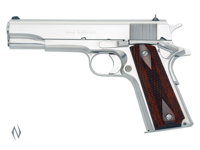 COLT 1991 GOVT BRIGHT STAINLESS 38 SUPER 127MM Image