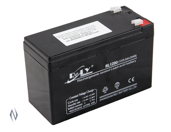 LIGHTFORCE BATTERY 12 VOLT 9 AMP Image