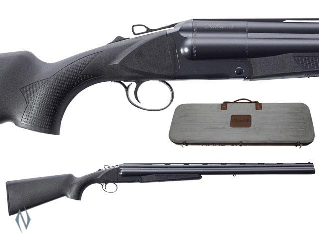"AKKAR 3 12G 28"" 3 SHOT BLACK SYNTHETIC EXTRACTOR Image"