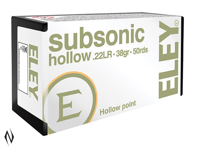 ELEY 22LR SUBSONIC HP 1040FPS Image