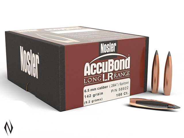 NOSLER 6.5MM 142GR SP ACCUBOND LR 100PK Image