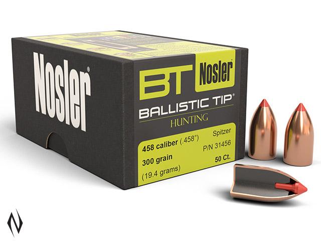 NOSLER 458 300GR BALLISTIC TIP 50PK Image