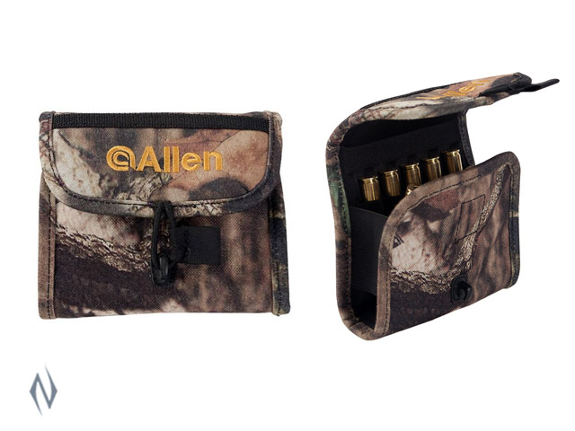 ALLEN RIFLE DELUXE AMMO POUCH CAMO 10 ROUND Image