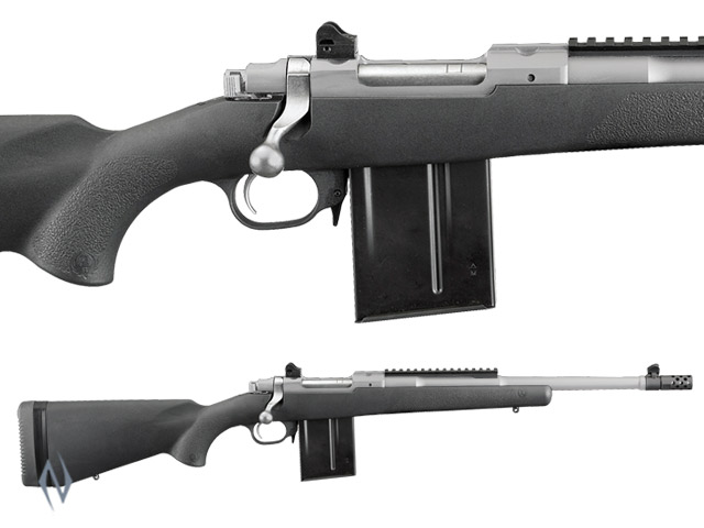 "RUGER 77 GUNSITE SCOUT S/S COMPOSITE 308 16.5"" Image"