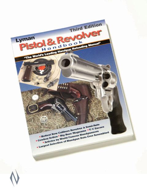 LYMAN PISTOL & REVOLVER HANDBOOK 3RD EDITION Image
